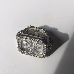 Jewelry - Silver Photo Ring,